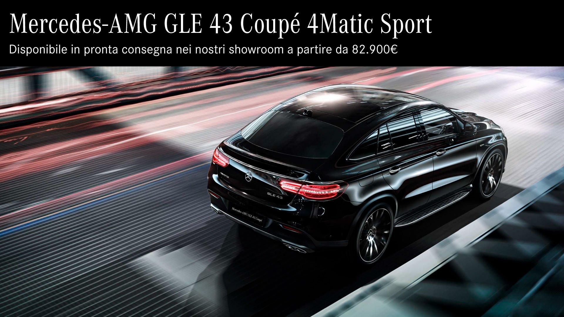 AMG GLE 43 coupé
