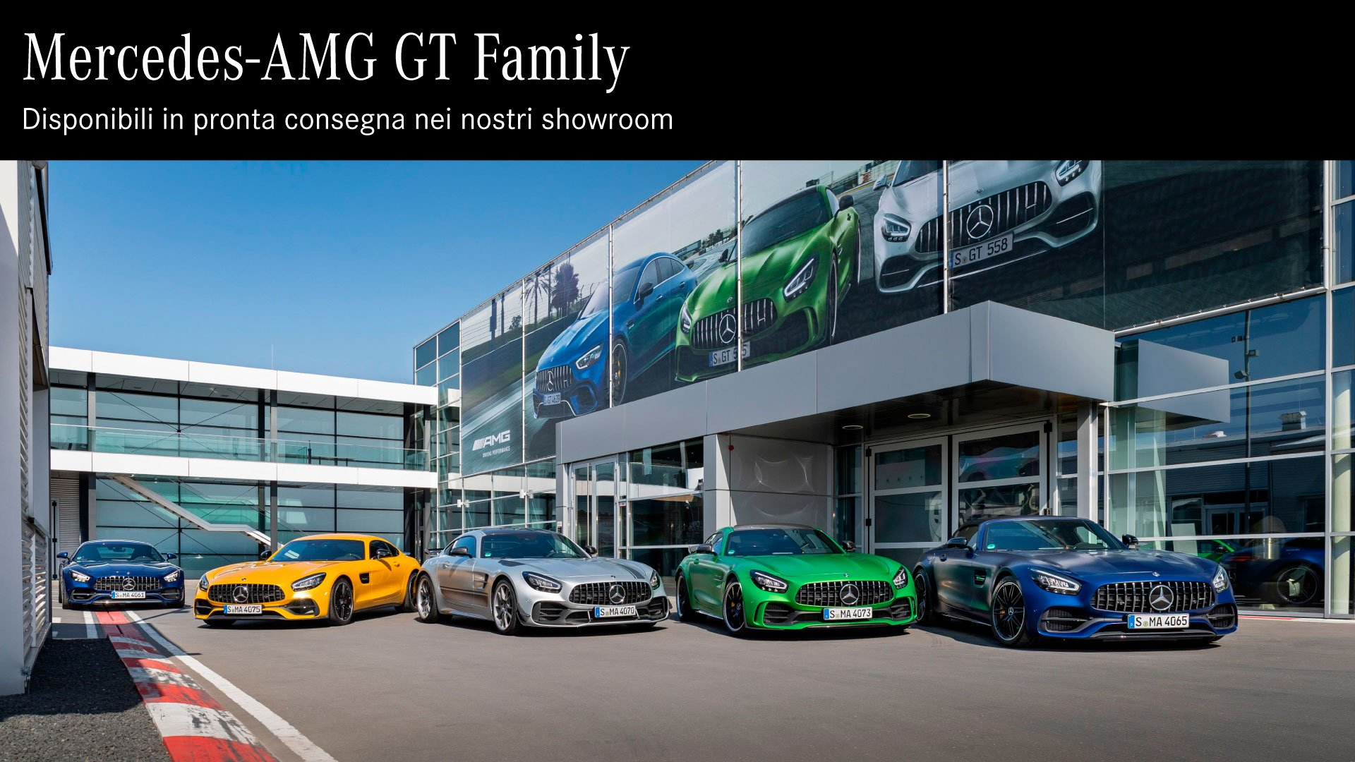 AMG GT family
