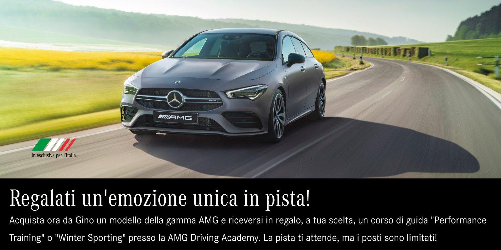 AMG corso guida