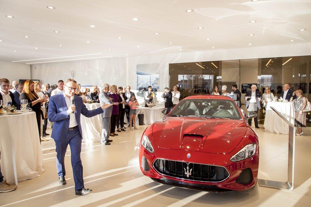 Evento Maserati GranTurismo MC Stradale