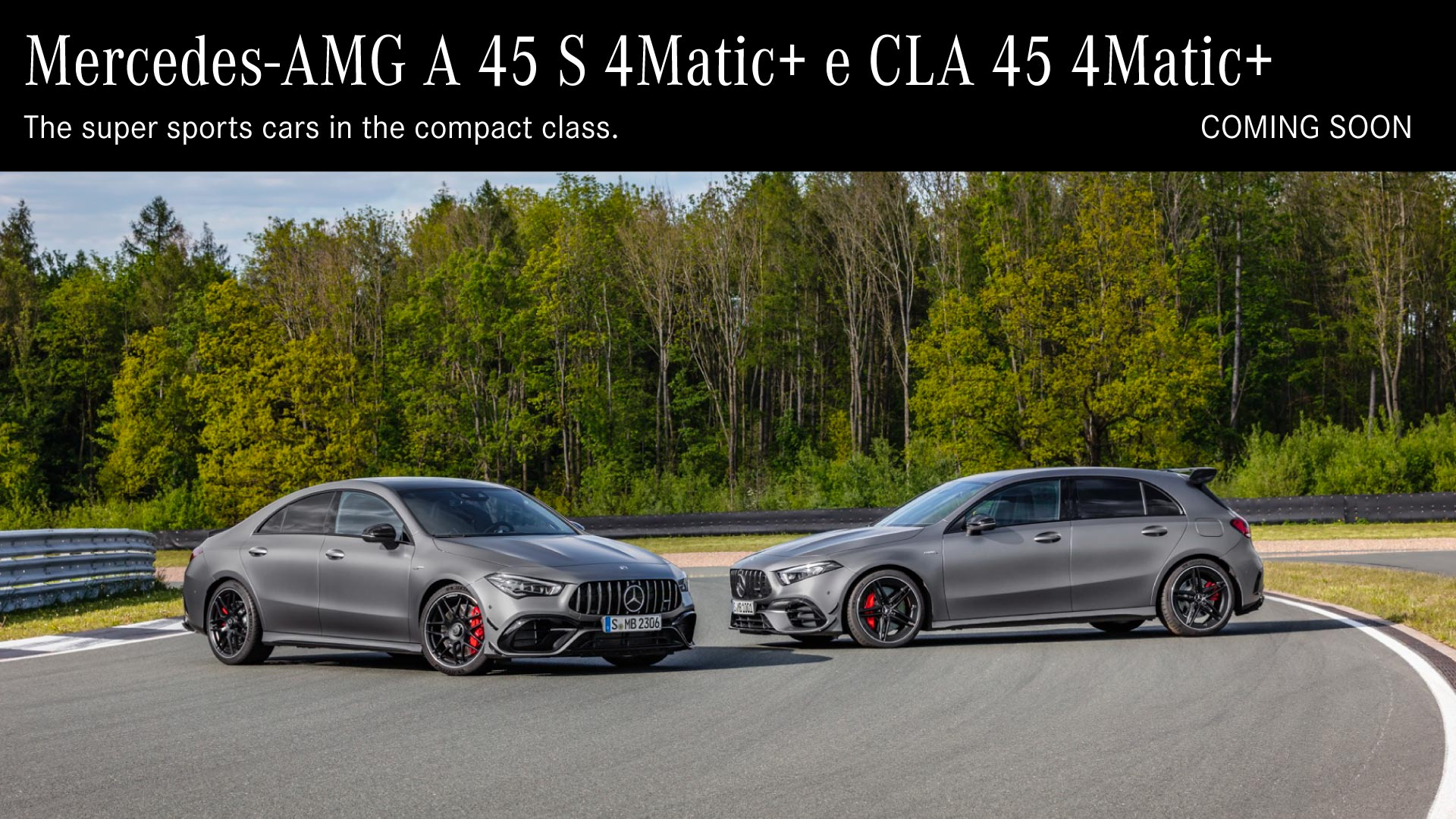 Mercedes-AMG A 45 S e CLA 45